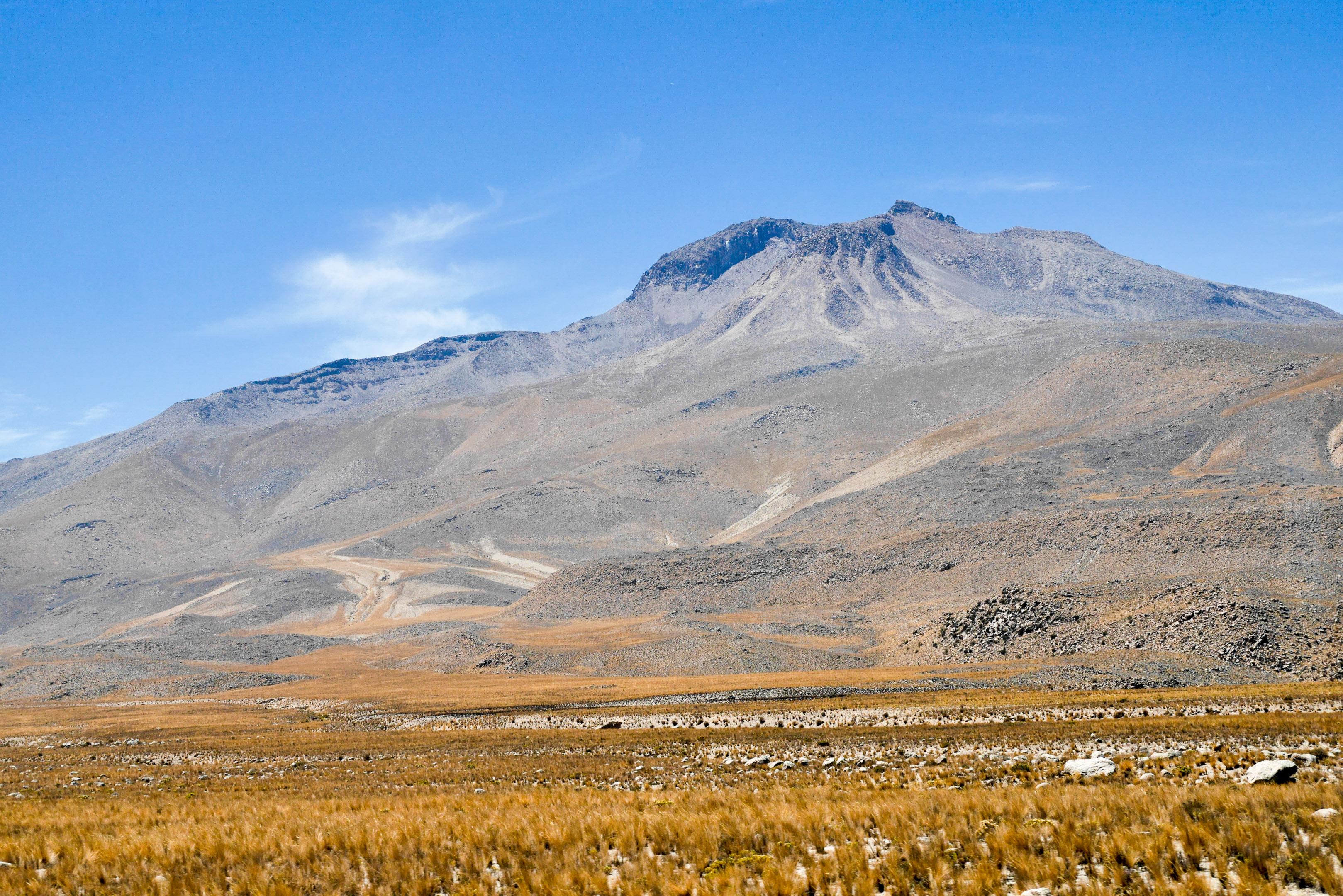Paysage de haute montagne