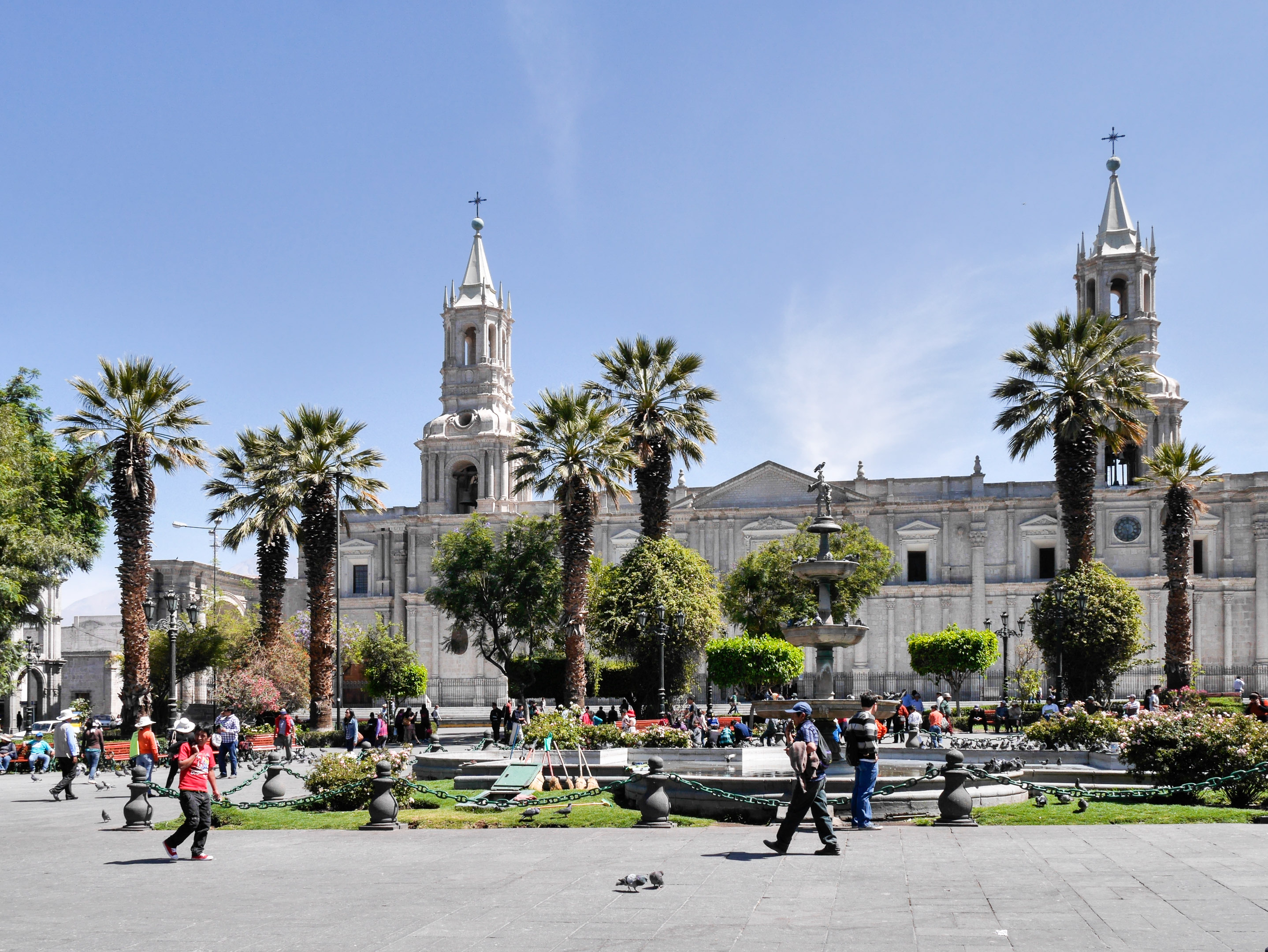 Arequipa - Place d'armes