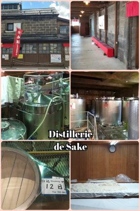 Otaru – visite d'une distillerie