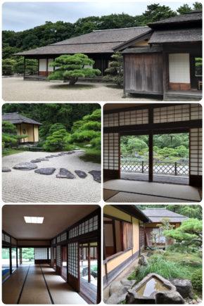 Jardin Ritsurin – Maison de thé
