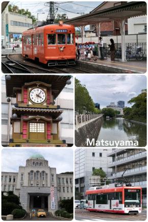Matsuyama – la ville