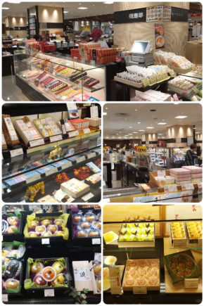 Japon – Rayon alimentation des grands magasins