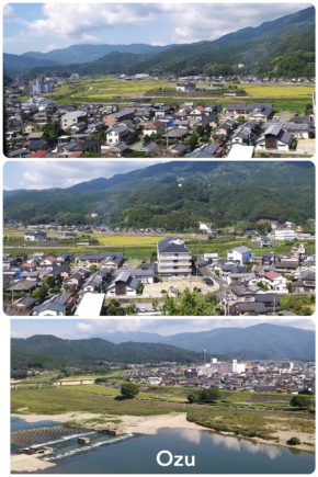 Ozu – vue panoramique