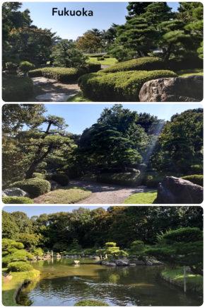 Fukuoka – jardin japonais