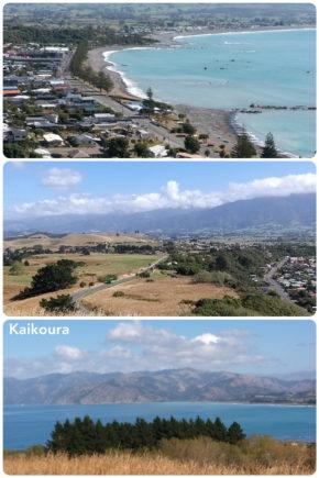 Kaikoura – porte sur l'océan