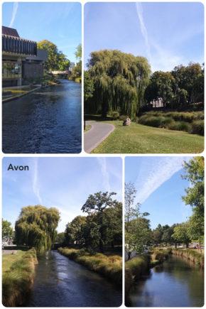 Christchurch – Rivière Avon