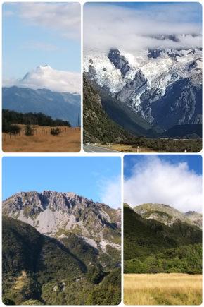 Mont Cook – sur la route
