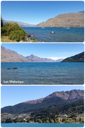 Queenstown – Lac Wakatipu